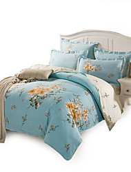 Full Cotton 4PC Duvet Covers Set