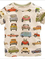 T-shirt Maschile Tinta unita Estate Cotone
