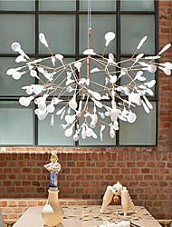 KWB 30 LED Innovation Firefly Pendant Light Modern Northern Europe Modern Creative Snowflake Tree Leaf Pendant Lamps
