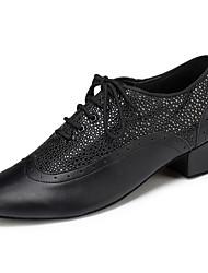 Men's Dance Shoes Latin / Modern / Jazz / Ballroom Dancing Shoe Chunky Heel Practice / Beginner / Professional