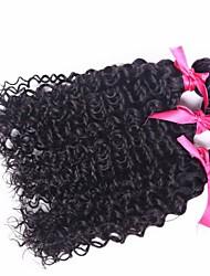высокое качество 3шт / много перуанских девственных волос человека кудрявый вьющиеся