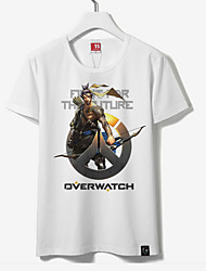 Inspired by Overwatch HANZO Cotton T-shirt