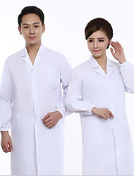 White Coats for Men And Women Physicians Nurse Lab Coat White Coat Food Factory Workers Medication Shop