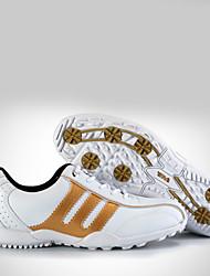 Herren-Sneaker-Outddor / Lässig / Sportlich-Tüll-Flacher AbsatzBlau / Rot / Silber / Gold / Schwarz und Gold