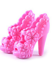 11-Inch Doll Shoes And High-Heeled Shoes Jewelry Accessories Fashion Fantasy Children'S Play Dress Up Toys Paragraph H