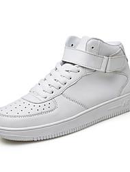 Herren-Sneaker-Outddor Lässig Sportlich-Leder-Flacher Absatz-Komfort-