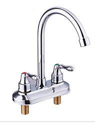 Hot And Cold, Double, Full Copper Kitchen Faucet
