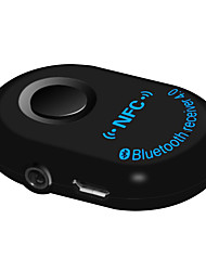 Car Hands-free one for two 3.5mm Bluetooth Audio Receiver Car Bluetooth 4.0 Inline Car Bluetooth