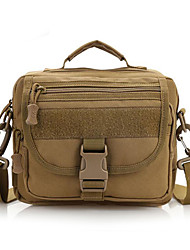 10 L Shoulder Bag Camping & Hiking Outdoor Multifunctional Khaki Nylon