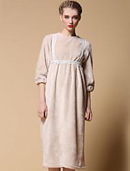 Pour My Fair Lady® Femme Col Arrondi Manches 1/2 Au dessus des genoux Robes-1501057