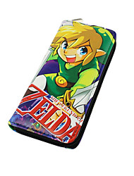 Cartoon The Legend of Zelda Long Zipper Wallet