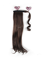 Ms. Velcro ponytail wig ponytail hair extension piece Hot Incognito wig