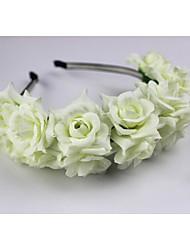 Women's / Flower Girl's Fabric Headpiece-Wedding Headbands 1 PieceFlower 60cm