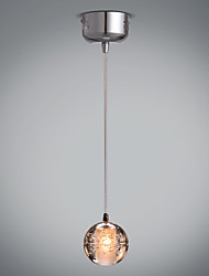 Modern Creative LED Crystal Pendant Lights 3W For Coffee Room Bar/Dining Room Stairs Loft Hanging Lamp Luminaire