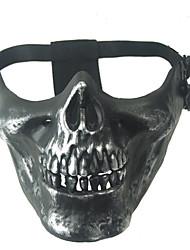 Mask 1pc Maskerademasker Sej / Speciel En Størrelse Grå Polyester