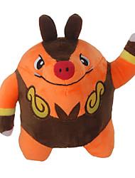 Pocket Little Monster Model Tepig Soft Plush Stuffed Doll Toy