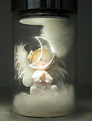 nova novidade lâmpada de luz conduzida da noite cor aleatória