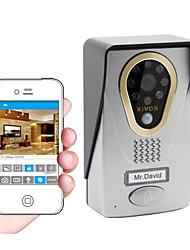 kivos wi-fi vídeo campainha campainha do telefone móvel intercomunicador doméstico inteligente bloqueio câmera kdb400 wireless