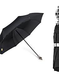 2016 China Manufacturers Custom-Made  New Fashion Waterproof And Windproof Portable Metal Skull FoldingUmbrella