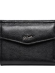 Stiya Fashion Top Grade Sheepskin Large Capacity Multifunction Lady Business Wallet