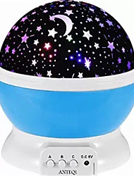 4 LED Bead 360 Degree Romantic Room Cosmos Star Projector Light