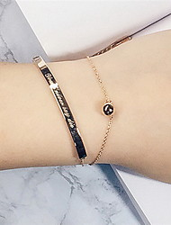 Gold/Silver Ball Beads Chain Bracelet