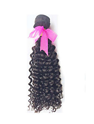 "1 Pcs/Lot 8""-26"" Brazilian Virgin Hair Deep Wave Natural Black Color Unprocessed Human Hair Weaves"