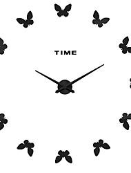 MQ - 027Large Size Creative Diy Wall Clock Art Background Wall Clock Modern Personality Quiet bell