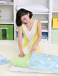 Мешки для хранения / Балетки / Организация одежды / Вакуумные пакеты Пластик с 90*70cm Vacuum compression bag 5-piece、Manual pump 1-piece
