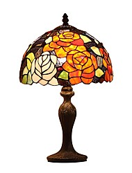 Four Color Rose For Tiffany Table Lamps