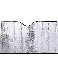 reflektierende Aluminiumfolie Frontscheibe Sonnen Isolierung Anti-UV-Autosonnenschutz 60 * 130cm