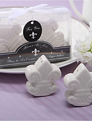 Ceramic Practical Favors-2 Kitchen Tools Garden Theme / Classic Theme / Rustic Theme White 4*4*2cm Ribbons