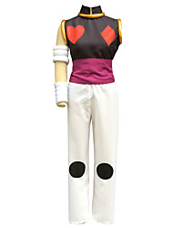 Inspiré par Hunter X Hunter Hisoka Anime Costumes de cosplay Costumes Cosplay Couleur Pleine Blanc Sans ManchesVeste / Pantalons /