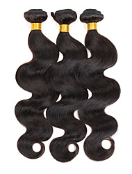 "3 Pcs/Lot 8""-30"" Malaysian Real Weave Hair Extensions Body Wave Hair Natural Unprocessed Remy Human Hair 300G'"