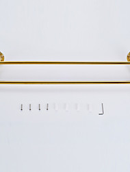 Towel Bar / Polished Brass / Wall Mounted /32*10*25 /Brass /Antique /32 10 0.88