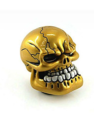 GM Modified Car Stalls Head Gear Head Automatic Personality Skull Head-Gear Teeth Ghost Manual