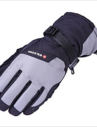 Ski Gloves Winter Upset Waterproof Warm And Fluffy Warm Cotton Gloves Electric Motorcycle Gloves