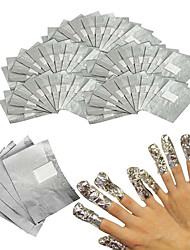 His Special Belt Foil Cotton Nail Polish Glue Foil Removable Phototherapy 50 pcs