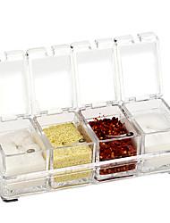 1 Kreative Küche Gadget / Beste Qualität / neu Acryl Küchentopf-Set