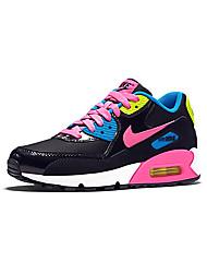 Sapatos Corrida Feminino Rosa / Cinza / Preto e Vermelho / Preto e Branco Couro / Tule