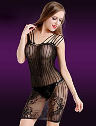 LIERMEI® Feminino Náilon Camisas e Vestidos-8888