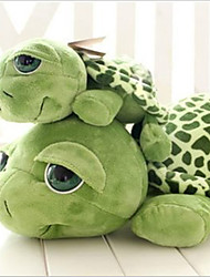 Cat / Dog Pet Toys Plush Toy Tortoise Green Cotton