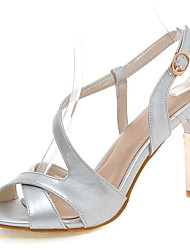 Women's Sandals Spring / Summer / Fall Peep Toe / Pointed Toe / Party & Evening / Dress Stiletto Heel
