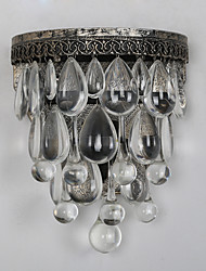 Creative Single Head Crystal Painting Wall Lamp for the Foyer / Kitchen / Living Room Decorate Wall Light