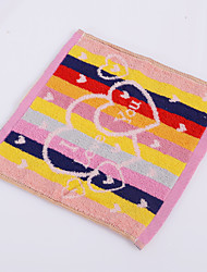 Yukang 10pcs Hand Towel Pack, Multi-Color Rainbow Design 100% Cotton Hand Towel