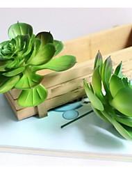 Técnicas vermelho / verde 1pç Crafts Floral
