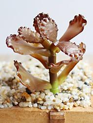 Técnicas Marrom / verde 1pç Crafts Floral