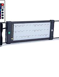 20 дюймов (52cm) привело свет аквариума AC 100-240V RGB пульт дистанционного управления выдвижной кронштейн водить рыбу лампой нас штекер