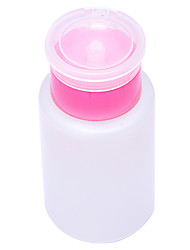 Empty Pump Dispenser Liquid UV Gel Polish Nail Art Polish Remover Bottle 150ML