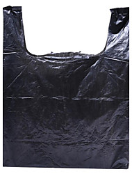 Black Plastic  Supermarket Shopping Bags Packing Gift Bags Garbage Bags Wholesale Custom Support A Box Of Five Packets